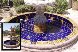 Fountain Tile Repair