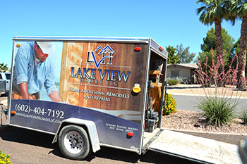 Lake View Homes Truck